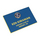 1220     - engraved badges blue plastic