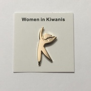 330072   - PIN WOMAN IN KIWANIS GOLD