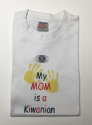 6306     - kids t-shirts/my mom is kiwan